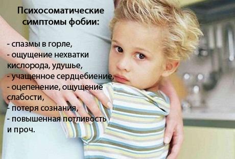 Фобии у детей