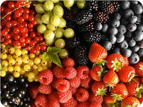 летние ягоды