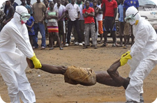 Эбола. Вирус Эбола. Жертва Эболы.