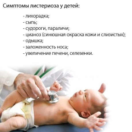 Врожденный листериоз у детей