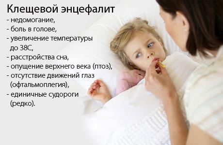 клещевой энцефалит у детей