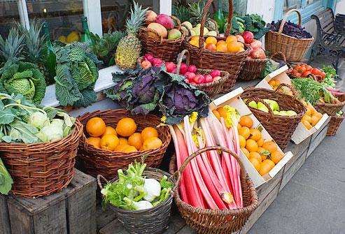 овощи фрукты при снижении веса