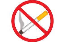 Знак запрета курения установленной формы - 78