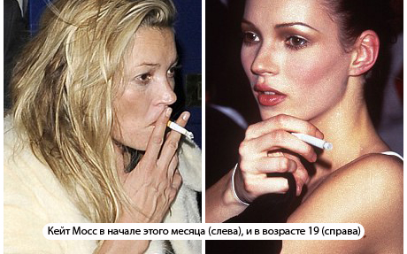 Если бросить курить кожа восстанавливается