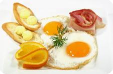 Завтрак. Еда. Блюдо.