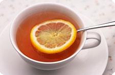 Чай. Чай с лимоном.